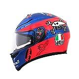 agv Helmets K-3 Sv E2205 Replica Plk Guy Martin Rose/Bleu, L