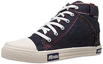 AJ Hobbs Men's Blue Canvas Sneakers - 10 UK (AJ100)
