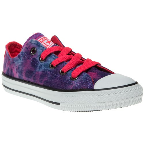 Converse - Chuck Taylor All Star Tie Dye Ox, Sneaker Unisex – Bambini Blue