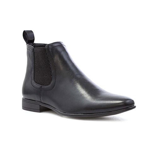Beckett Mens Black Chelsea Boot - Size 9 UK - Black