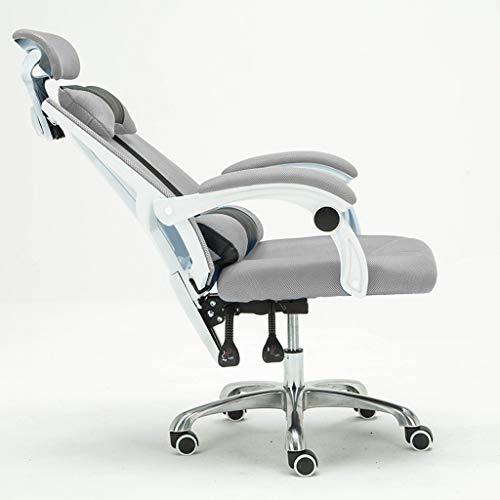 Li hao shop moderna sedia da computer minimalista, sedia pigra, sedia da ufficio, poltrona massaggiante, poltrona, poltrona da lavoro, rotazione a 360 °, può sdraiarsi (color : #2)