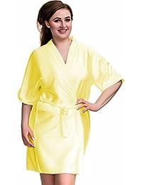ea227b1375748 Nine X Luxury Satin Dressing Gown S- 7XL