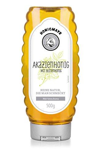 HONIGMAYR Akazienhonig mit Blütenhonig Squeezer - Fine Selection (1 x 500g)