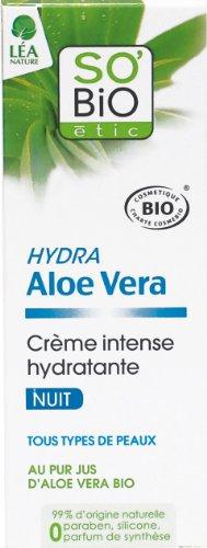 So'Bio Étic - Crema intensa hidratante de noche
