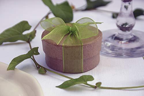Die Seedball-Manufaktur Apfel Überraschungs-Seedball Natur mit apfelgrüner Schleife 5 cm im Durchmesser (Bezahlung Für Artikel In Den Warenkorb)