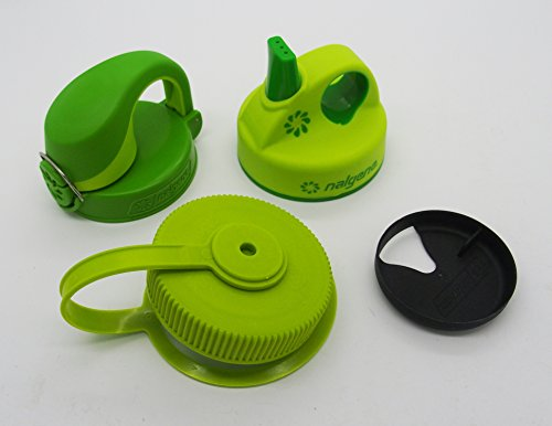 """Preisvergleich Produktbild Nalgene-Deckelset """"grün"""" für Weithalsflaschen mit 53mm Öffnung"""