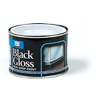 Able & Handy 91458 180ml Black Gloss Non Drip Paint (DGN), Multi-Colour