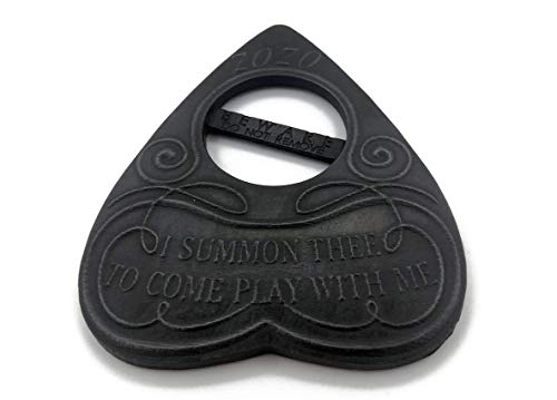 ZoZo Planchette featuring 'I Summon Thee to Come and Play with Me' Wording. Includes Safety Tab For Use With Ouija Board, Talking Board