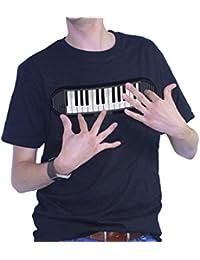 Thumbsup - 637 - Déguisement Pour Adulte - T-shirt - Piano - Taille M
