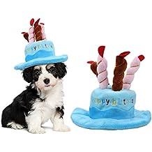 OWUDE Sombrero del cumpleaños del animal doméstico 7f67429bf15