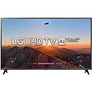 LG 123 cm (49 Inches) 4K UHD LED Smart TV 49UK6360PTE (Black) (2018 model)