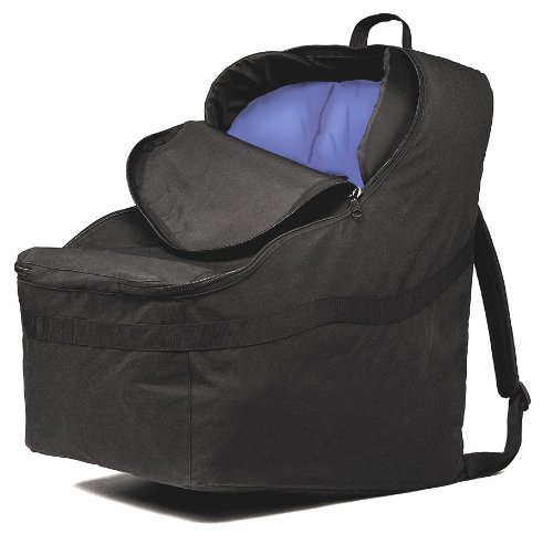 JL Childress Ultimate Car Seat Travel Bag for Newborn and Above (Black)