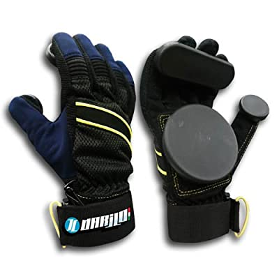 Handschuhe Longboard Skateboard Darilo Shark Slide Gloves XL