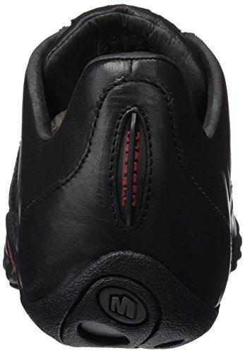 Merrell Sprint Blast, Sneaker Uomo Nero (Black/scarlet)
