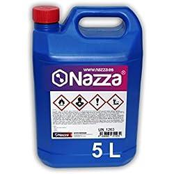Alcohol Isopropílico Nazza | Para la limpieza de componentes electrónicos | 100% Isopropanol puro | 5 Litros