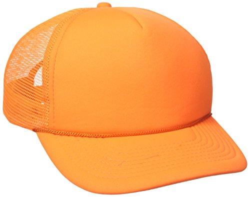 Decky Farbe Neon Trucker Cap, unisex, 221-N.ORN, Orange, Einstellbar