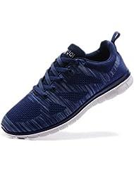 Zapatillas de Running para hombre. Material Sintetico Ligero y Transpirable