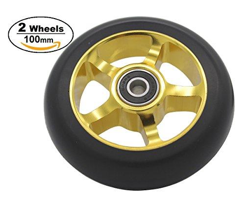 Pro Scooter Rad 100mm Ersatz Rad mit - Roller Razor 2-rad