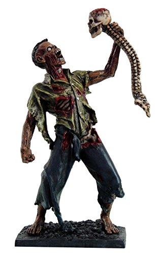 sen spülreste Rücken sekeleton Totenkopf Undead Figur Statue ()