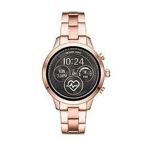 Michael Kors Runway Digital Gold Dial Women's Watch-MKT5046