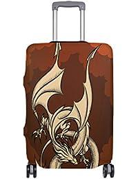 Preisvergleich für COOSUN Sky Dragon Print-Reise-Gepäck Schutzabdeckungen Waschbar Spandex Gepäck Koffer Cover - Passend für 18-32...