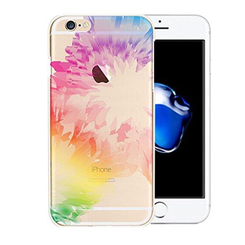 iphone 7 copertura,NNIUK iphone 7 custodia coperchio di protezione TPU Caso particolare pendenza di colore Ultra Clear Slim flessibile per Apply iPhone 7 (4.7