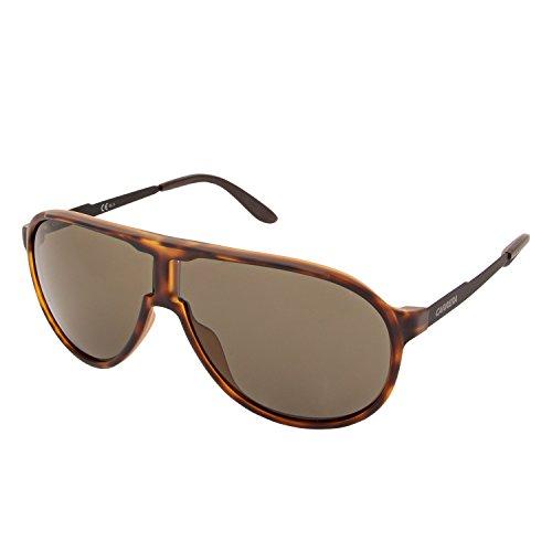 Carrera Gradient Aviator Unisex Sunglasses - (NEW CHAMPION L2L 60QT|60|Brown Color) image
