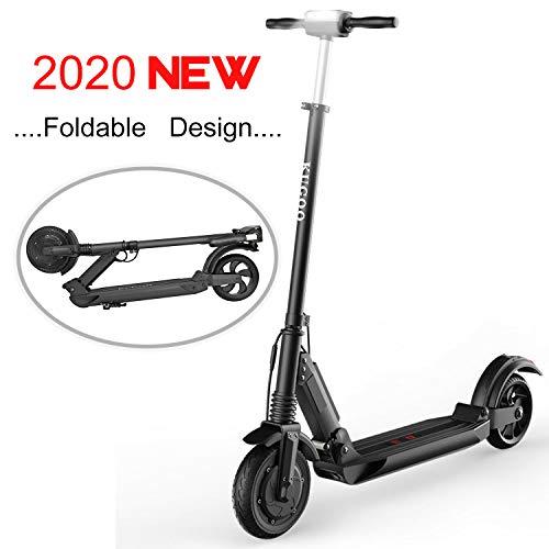 MARKBOARD Elektro Scooter, Elektroroller Faltbar City Roller Zusammenklappbarer Cityscooter Erwachsene(schwarz)