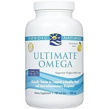 Última Omega, sabor a limón, 1.000 mg, geles suaves 180 - Naturals nórdicos