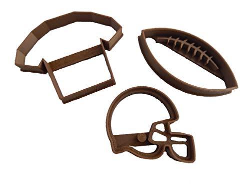 Ausstechformen Fußball Helm Jersey Helm Cookie Cutter