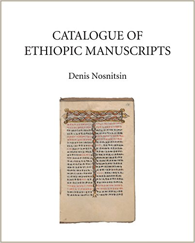 Catalogue of Ethiopic Manuscripts 2017 (Catalogue of Oriental Manuscripts, Xylographs, etc. in Danish Collections (COMDC))