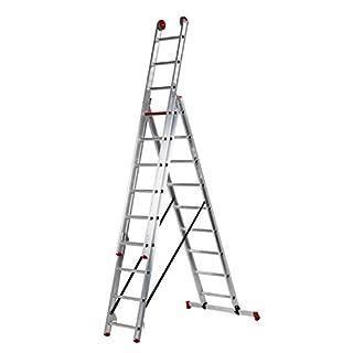 Altrex 3Piece Aluminum Ladder