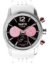 4205a02c90e WATX RWA0488 – Montre pour Femme avec Bracelet en Caoutchouc