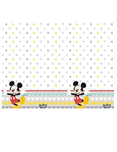 Procos- Tovaglia plastica 120x180 cm Mickey Mouse Awesome, Multicolore, 5PR89004