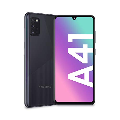 "Oferta de Samsung Galaxy A41 - Smartphone 6.1"" Super AMOLED (4GB RAM, 64GB ROM), Negro [Versión española]"
