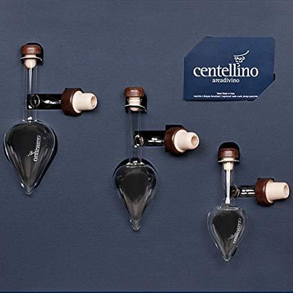 Centellino Drei Stück Servieren Set C300A 100ml für rot Wein, 60ml für Raisin Wein, und 35ml für Brandy - Drei Stück Wein-set