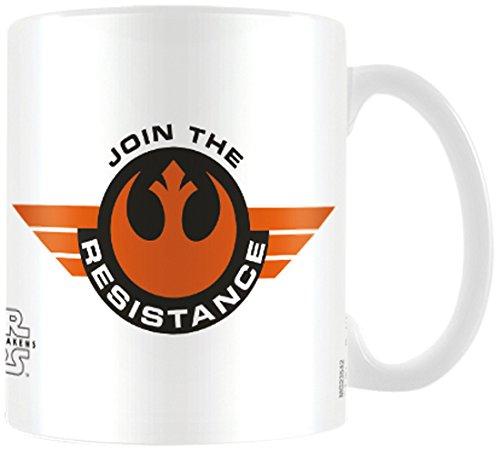 Star Wars The Force weckt Begleite die Widerstand Keramik Tasse