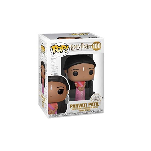 Funko Pop Parvati Patil Baile de Navidad (Harry Potter 100) Funko Pop Harry Potter