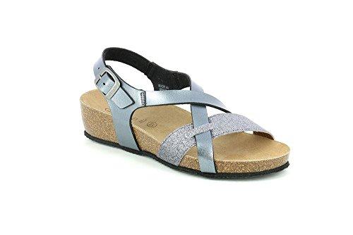 Grunland SB0366 MEMI Sandalo Donna S. PIOMBO-FUCILE