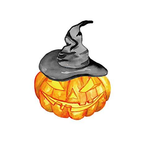 KonJin Halloween Aufkleber Kürbis DIY Wandaufkleber Wohnzimmer Schlafzimmer Dekor Wandtattoo Kinderzimmer Wandsticker