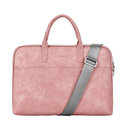15 Pouces Sac à main homme Porte-documents Oxford Sacoche Business Homme d'Ordinateur Sac Bandoulière Pink