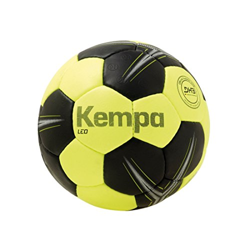 Kempa Leo Handball, Fluo gelb/Schwarz, 1