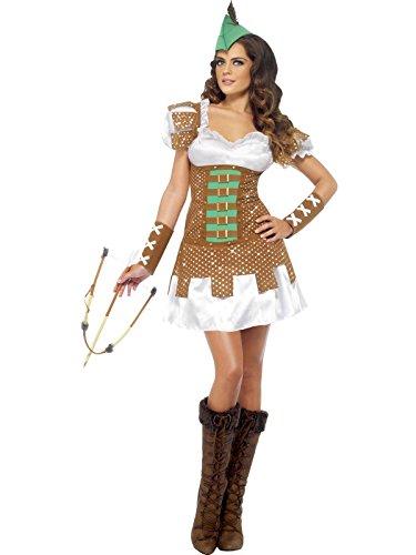 Smiffy's Robin Hood Costume da donna, M