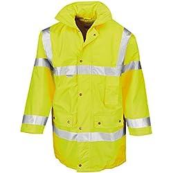 Result Cazadora de trabajo 3/4 de seguridad de alta visibilidad amarillo XXXL