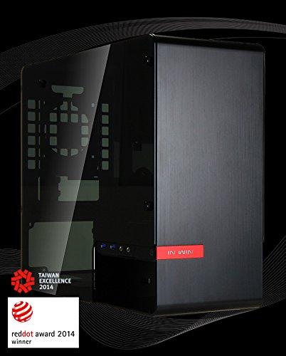 Mini-itx-gehäuse Win In (IN WIN 901 Design Mini-ITX Tower - schwarz)