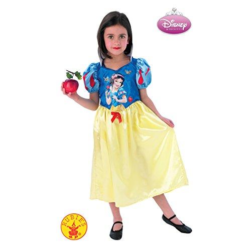 White Kostüm Snow Kid - Rubie's 3888791L - Snow White Storytime - Child, Verkleiden und Kostüm