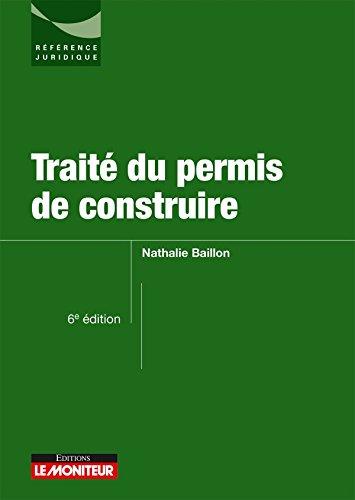 Traité du permis de construire