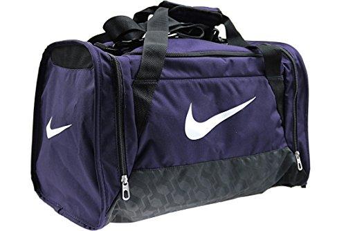 Nike Brasilia 6Duffel Small Sac de Sport Unisexe Adulte Taille unique Multicolore - violet/noir/blanc (Purple Dynasty / Black / White)
