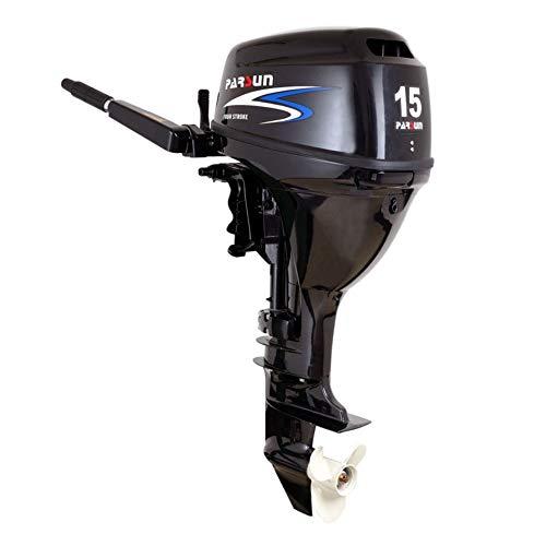 Parsun Aussenborder Benzinmotor 2,6-40 PS | Leistungsstarker 4-Takt Außenborder Bootsmotor |Einspritzer Außenbordmotor für garantierten Fahrspaß in diversen PS Ausführungen (15 PS, Kurzschaft)