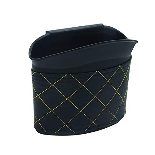 Preisvergleich Produktbild XFZK Auto Mülleimer,  Kunststoffmülltonne,  Hängen Recycling Universal Beste Auto Mini Mülleimer Abfallsack Abfallbehälter für Fahrzeug